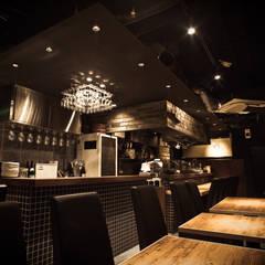 黒!黒!黒!: designista-s (デザイニスタ エス)が手掛けたレストランです。