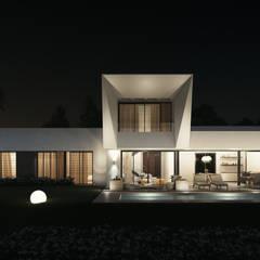 Villas en la Costa del Sol (Diseño interior en infografías): Casas de estilo moderno de DIKA estudio