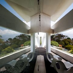 Casa 3: Terrazas de estilo  por Vivian Dembo Arquitectura,
