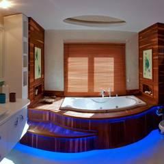 Attelia Tasarim – VİLLA GÜNEL:  tarz Banyo