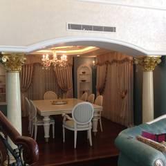 Attelia Tasarim – VİLLA K: klasik tarz tarz Yemek Odası
