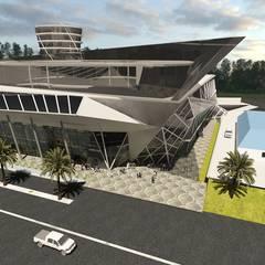 : Centros comerciales de estilo  por Arquitecto Eduardo Carrasquero