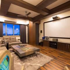 Proposed Interior of Bunglaow:  Media room by KANAKIA INTERIOR AND CONSULTANCY