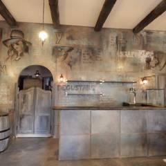 Restaurants de style  par Meraki di Irene Mancini Decorazione d'Interni,