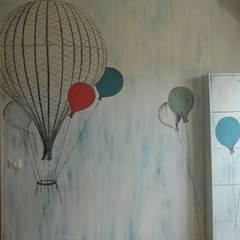 Decorazione camera ragazzi: Camera ragazzi in stile  di Meraki di Irene Mancini