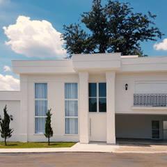Casa Branca: Casas  por Dani Santos Arquitetura