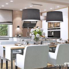 Küche mit Essbereich : klassische Küche von MIKOLAJSKAstudio