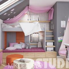 Mädchenzimmer:  Kinderzimmer von MIKOLAJSKAstudio