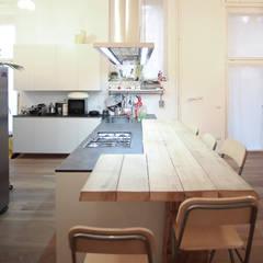 Cocinas de estilo industrial por LAB43