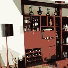 Stok Mimarlık / Tasarım / Atölye – Ata Demirer Evi:  tarz Şarap Mahzeni