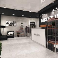 Дизайн проект магазина молодежной одежды Niki Filini: Офисы и магазины в . Автор – Лето Дизайн