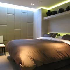 drijvende woning Amsteldijk 03:  Slaapkamer door aquatecture