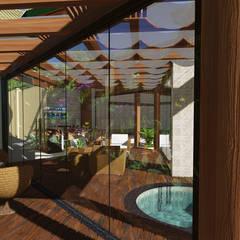 Projeto Arquitetura Residencial DI15: Spas  por arquiteto bignotto