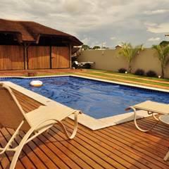 Pool by Referencia Solucoes Arquitetonicas e Ambientais