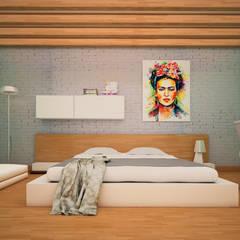غرفة نوم تنفيذ GarDu Arquitectos
