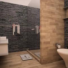 حمام تنفيذ GarDu Arquitectos