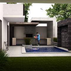 minimalistic Pool by GarDu Arquitectos