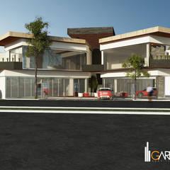 Pusat Perbelanjaan by GarDu Arquitectos