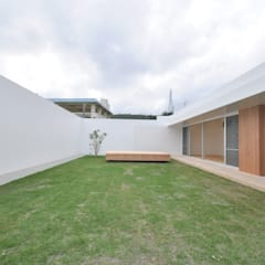 GY-HOUSE: 門一級建築士事務所が手掛けた庭です。