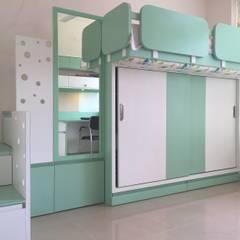غرفة الاطفال تنفيذ GREEN HAT STUDIO PVT LTD