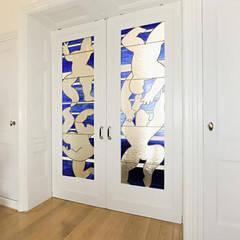Restauratie Stadswoning Den Haag:  Eetkamer door Tektor interieur & architectuur