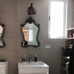 """""""鄉村風""""  南法小鄉村風 3貓2奴才的住宅:  浴室 by CKY DECO"""
