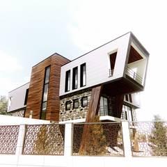 Ofis Mimarlık – HS2- EVİ: endüstriyel tarz tarz Evler