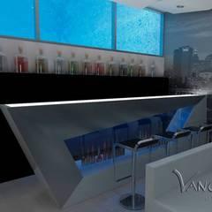 Ruang Multimedia oleh Vanguardist Design Studio , Modern