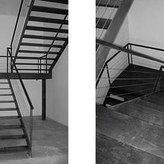 Quantal Group Corredores, halls e escadas industriais por Esquissos 3G Industrial