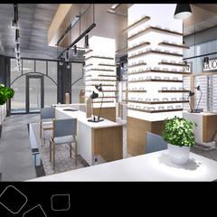 EMRAH SEVDIR INTERIORS – Atasoy Optik:  tarz Ofisler ve Mağazalar