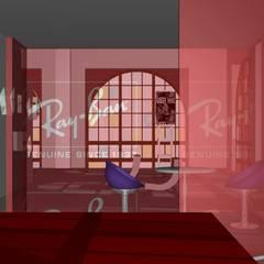 Réhabilitation d'une ancienne centrale électrique en clinique de l'oeil: Espaces commerciaux de style  par J's concepts