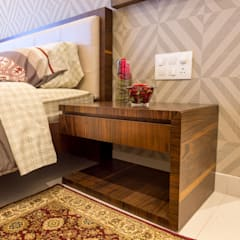 3 BHK apartment - RMZ Galleria, Bengaluru:  Bedroom by KRIYA LIVING