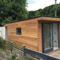 Helston Garden Box with Rear Storage:  Garage/shed by Building With Frames