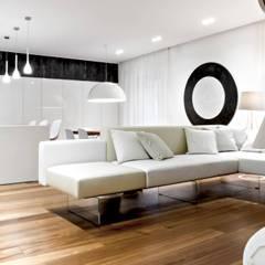 Living room by m12 architettura design, Modern
