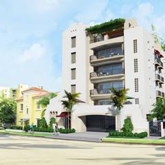 CASA MENORES: Casas de estilo  por OFICINA DE TECNOLOGIA Y PROYECTOS ESPECIALES