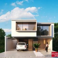 Casa Väljad D-2: Casas de estilo  por disain arquitectos