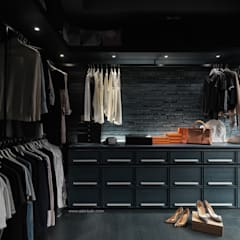 Dressing room by Taipei Base Design Center