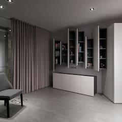 : minimalistic Study/office by Taipei Base Design Center