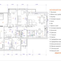 Апарт-отель (домашняя гостиница): Гостиницы в . Автор – Студия Архитектуры и Дизайна Марии Тупикиной