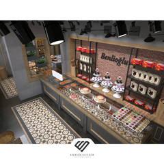 EMRAH SEVDIR INTERIORS – Fırın:  tarz Dükkânlar