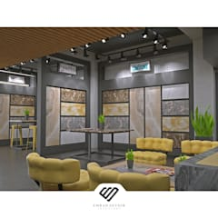 EMRAH SEVDIR INTERIORS – Mermer Showroom:  tarz Dükkânlar