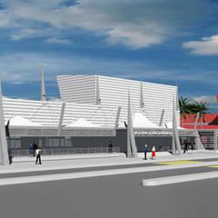 Acımert Mimarlık Danışmanlık Ltd. Şti. – General Aviation Terminali Konsept Projesi, Kral Abdülaziz Uluslararası Havaalanı, Cidde – Suudi Arabistan:  tarz Havalimanları