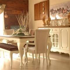 Baloğlu Mobilya - Avangarde & Country & Provincial – ürünlerimiz: kolonyal tarz tarz Yemek Odası