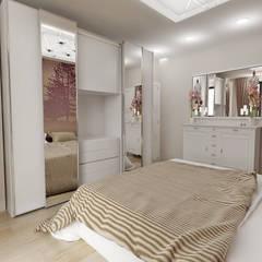 50GR Mimarlık – halkalı_1+1 daire:  tarz Yatak Odası