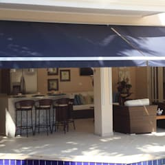Área gourmet Residência Alphaville Residencial 2: Garagens e edículas  por Studio 262 - arquitetura interiores paisagismo