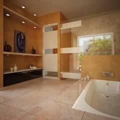 BAÑOS: Baños de estilo  por Ecourbanismo