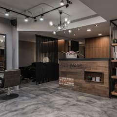 Espacios comerciales de estilo  por 澄穆空間設計