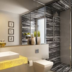 :  Bathroom by Koncept Architects & Interior Designers,