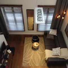 Apartament na wynajem w centrum Krakowa: styl , w kategorii Taras zaprojektowany przez Viva Design - projektowanie wnętrz