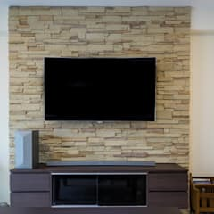 Punggol Field Asian style living room by Y&T Pte Ltd Asian Stone